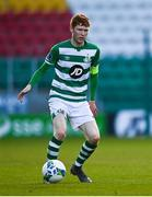 10 October 2020; Darragh Nugent of Shamrock Rovers II during the SSE Airtricity League First Division match between Shamrock Rovers II and Bray Wanderers at Tallaght Stadium in Dublin. Photo by Harry Murphy/Sportsfile