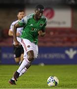 13 October 2020; Joseph Olowu of Cork City during the SSE Airtricity League Premier Division match between Cork City and Dundalk at Turners Cross in Cork. Photo by Matt Browne/Sportsfile