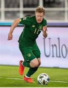 14 October 2020; Daryl Horgan of Republic of Ireland during the UEFA Nations League B match between Finland and Republic of Ireland at Helsingin Olympiastadion in Helsinki, Finland. Photo by Mauri Forsblom/Sportsfile