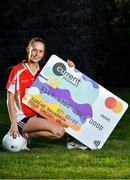 16 October 2020; currentaccount.ie are the new title sponsors of the All-Ireland Ladies Club Football Championships. currentaccount.ie will also sponsor the LGFA All-Ireland Club 7s and the LGFA's National Volunteer awards. Pictured to mark the announcement is Galway Ladies Senior Football team player Olivia Divilly, who appeared in the 2019 All-Ireland Ladies Senior Club Football Championship Final with her club Kilkerrin-Clonberne. To find out more about Current Account from your Credit Union, visit https://currentaccount.ie/. Photo by Brendan Moran/Sportsfile