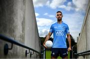 15 October 2020; Dublin Senior Footballer James McCarthy in attendance at Parnell Park to help Dublin GAA and sponsors AIG Insurance to officially launch the new Dublin jersey. Photo by David Fitzgerald/Sportsfile