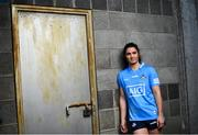 15 October 2020; Dublin Senior ladies footballer Niamh Collins in attendance at Parnell Park to help Dublin GAA and sponsors AIG Insurance to officially launch the new Dublin jersey. Photo by David Fitzgerald/Sportsfile