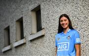 15 October 2020; Dublin Senior Camogie player Orla Gray in attendance at Parnell Park to help Dublin GAA and sponsors AIG Insurance to officially launch the new Dublin jersey. Photo by David Fitzgerald/Sportsfile