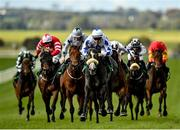 15 October 2020; Lustown Baba, centre, with Leigh Roche up, on their way to winning the TRM Waterford Testimonial Stakes at The Curragh Racecourse in Kildare. Photo by Seb Daly/Sportsfile
