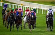 15 October 2020; Tyrion's Dream, centre, with Leigh Roche up, on their way to winning the Equilux Works Or Your Money Back Handicap DIV II at The Curragh Racecourse in Kildare. Photo by Seb Daly/Sportsfile