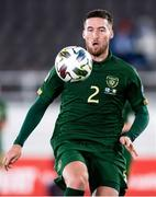 14 October 2020; Matt Doherty of Republic of Ireland during the UEFA Nations League B match between Finland and Republic of Ireland at Helsingin Olympiastadion in Helsinki, Finland. Photo by Jussi Eskola/Sportsfile