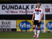 16 October 2020; Daniel Cleary of Dundalk during the SSE Airtricity League Premier Division match between Dundalk and Bohemians at Oriel Park in Dundalk, Louth. Photo by Harry Murphy/Sportsfile