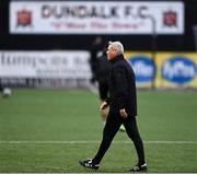 16 October 2020; Bohemians manager Keith Long prior to the SSE Airtricity League Premier Division match between Dundalk and Bohemians at Oriel Park in Dundalk, Louth. Photo by Harry Murphy/Sportsfile