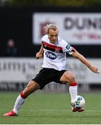 16 October 2020; Greg Sloggett of Dundalk during the SSE Airtricity League Premier Division match between Dundalk and Bohemians at Oriel Park in Dundalk, Louth. Photo by Harry Murphy/Sportsfile