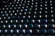 17 October 2020; Empty seats prior to the EirGrid GAA Football All-Ireland U20 Championship Semi-Final match between Dublin and Tyrone at Kingspan Breffni Park in Cavan. Photo by David Fitzgerald/Sportsfile