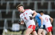 17 October 2020; Tiarnán Quinn of Tyrone after scoring his side's first goal during the EirGrid GAA Football All-Ireland U20 Championship Semi-Final match between Dublin and Tyrone at Kingspan Breffni Park in Cavan. Photo by David Fitzgerald/Sportsfile