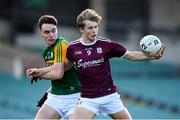 17 October 2020; Cian Hernon of Galway in action against Luke Brosnan of Kerry during the EirGrid GAA Football All-Ireland U20 Championship Semi-Final match between Kerry and Galway at the LIT Gaelic Grounds in Limerick. Photo by Matt Browne/Sportsfile