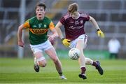 17 October 2020; Oisin Gormley of Galway in action against Michael O'Gara of Kerry during the EirGrid GAA Football All-Ireland U20 Championship Semi-Final match between Kerry and Galway at the LIT Gaelic Grounds in Limerick. Photo by Matt Browne/Sportsfile