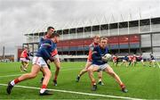 17 October 2020; Cork players warm-up outside the stadium prior to the Allianz Football League Division 3 Round 6 match between Cork and Louth at Páirc Ui Chaoimh in Cork. Photo by Harry Murphy/Sportsfile