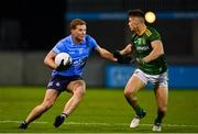 17 October 2020; Ciarán Kilkenny of Dublin is tackled by Gavin McCoy of Meath during the Allianz Football League Division 1 Round 6 match between Dublin and Meath at Parnell Park in Dublin. Photo by Brendan Moran/Sportsfile