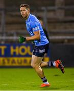 17 October 2020; Dean Rock of Dublin celebrates after scoring his side's first goal during the Allianz Football League Division 1 Round 6 match between Dublin and Meath at Parnell Park in Dublin. Photo by Brendan Moran/Sportsfile
