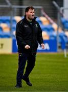 17 October 2020; Wicklow manager Davy Burke before the Allianz Football League Division 4 Round 6 match between Wicklow and Antrim at the County Grounds in Aughrim, Wicklow. Photo by Ray McManus/Sportsfile
