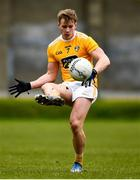 17 October 2020; Peter Healy of Antrim during the Allianz Football League Division 4 Round 6 match between Wicklow and Antrim at the County Grounds in Aughrim, Wicklow. Photo by Ray McManus/Sportsfile