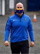 17 October 2020; Wicklow GAA Treasurer Alan Smullen arrives for the Allianz Football League Division 4 Round 6 match between Wicklow and Antrim at the County Grounds in Aughrim, Wicklow. Photo by Ray McManus/Sportsfile