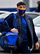 17 October 2020; Conor Byrne of Wicklow arrives for the Allianz Football League Division 4 Round 6 match between Wicklow and Antrim at the County Grounds in Aughrim, Wicklow. Photo by Ray McManus/Sportsfile
