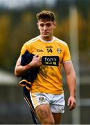 17 October 2020; Mark Sweeney of Antrim after the Allianz Football League Division 4 Round 6 match between Wicklow and Antrim at the County Grounds in Aughrim, Wicklow. Photo by Ray McManus/Sportsfile