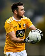 17 October 2020; Conor Murray of Antrim during the Allianz Football League Division 4 Round 6 match between Wicklow and Antrim at the County Grounds in Aughrim, Wicklow. Photo by Ray McManus/Sportsfile