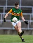 17 October 2020; Sean O'Brien of Kerry during the EirGrid GAA Football All-Ireland U20 Championship Semi-Final match between Kerry and Galway at the LIT Gaelic Grounds in Limerick. Photo by Matt Browne/Sportsfile