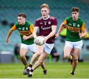 17 October 2020; Conor Raftery of Galway in action against Kerry during the EirGrid GAA Football All-Ireland U20 Championship Semi-Final match between Kerry and Galway at the LIT Gaelic Grounds in Limerick. Photo by Matt Browne/Sportsfile