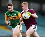 17 October 2020; Jack Kirrane of Galway in action against Luka Brosnan of Kerry during the EirGrid GAA Football All-Ireland U20 Championship Semi-Final match between Kerry and Galway at the LIT Gaelic Grounds in Limerick. Photo by Matt Browne/Sportsfile