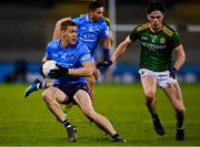 17 October 2020; Con O'Callaghan of Dublin in action against Eoin Harkin of Meath during the Allianz Football League Division 1 Round 6 match between Dublin and Meath at Parnell Park in Dublin. Photo by Brendan Moran/Sportsfile