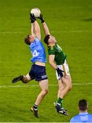 17 October 2020; Con O'Callaghan of Dublin in action against David Toner of Meath during the Allianz Football League Division 1 Round 6 match between Dublin and Meath at Parnell Park in Dublin. Photo by Brendan Moran/Sportsfile