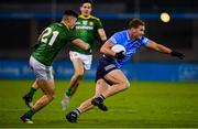 17 October 2020; Ciarán Kilkenny of Dublin in action against Gavin McCoy of Meath during the Allianz Football League Division 1 Round 6 match between Dublin and Meath at Parnell Park in Dublin. Photo by Brendan Moran/Sportsfile