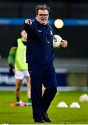 17 October 2020; Meath coach Colm Nally prior to the Allianz Football League Division 1 Round 6 match between Dublin and Meath at Parnell Park in Dublin. Photo by Brendan Moran/Sportsfile