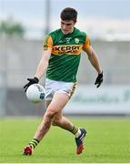 17 October 2020; Seán O'Shea of Kerry during the Allianz Football League Division 1 Round 6 match between Monaghan and Kerry at Grattan Park in Inniskeen, Monaghan. Photo by Brendan Moran/Sportsfile