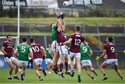 18 October 2020; Matthew Ruane of Mayo and Cein D'árcy of Galway during the Allianz Football League Division 1 Round 6 match between Galway and Mayo at Tuam Stadium in Tuam, Galway. Photo by Ramsey Cardy/Sportsfile