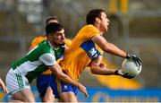 18 October 2020; Gary Brennan of Clare in action against Eddie Courtney of Fermanagh during the Allianz Football League Division 2 Round 6 match between Clare and Fermanagh at Cusack Park in Ennis, Clare. Photo by Diarmuid Greene/Sportsfile