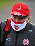 18 October 2020; Tyrone manager Mickey Harte prior to the Allianz Football League Division 1 Round 6 match between Donegal and Tyrone at MacCumhail Park in Ballybofey, Donegal. Photo by David Fitzgerald/Sportsfile
