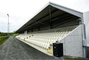 18 October 2020; A General view of the new main stand prior to the Allianz Hurling League Division 3B Final match between Sligo and Leitrim at the Connacht Centre of Excellence in Bekan, Mayo. Photo by Harry Murphy/Sportsfile
