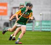 18 October 2020; Shane Conway of Kerry during the Allianz Hurling League Division 2A Final match between Antrim and Kerry at Bord na Mona O'Connor Park in Tullamore, Offaly. Photo by Matt Browne/Sportsfile