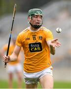 18 October 2020; James McNaughton of Antrim during the Allianz Hurling League Division 2A Final match between Antrim and Kerry at Bord na Mona O'Connor Park in Tullamore, Offaly. Photo by Matt Browne/Sportsfile