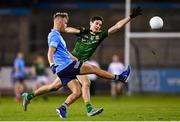 17 October 2020; Jonny Cooper of Dublin and Ethan Devine of Meath during the Allianz Football League Division 1 Round 6 match between Dublin and Meath at Parnell Park in Dublin. Photo by Ramsey Cardy/Sportsfile