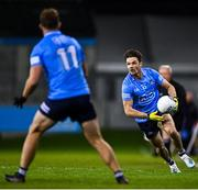 17 October 2020; Eric Lowndes of Dublin during the Allianz Football League Division 1 Round 6 match between Dublin and Meath at Parnell Park in Dublin. Photo by Ramsey Cardy/Sportsfile