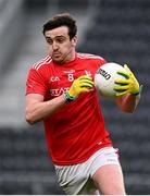 17 October 2020; Tommy Durnin of Louth during the Allianz Football League Division 3 Round 6 match between Cork and Louth at Páirc Ui Chaoimh in Cork. Photo by Harry Murphy/Sportsfile