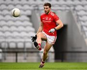 17 October 2020; Sam Mulroy of Louth during the Allianz Football League Division 3 Round 6 match between Cork and Louth at Páirc Ui Chaoimh in Cork. Photo by Harry Murphy/Sportsfile