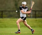 18 October 2020; Gerard O'Kelly-Lynch of Sligo during the Allianz Hurling League Division 3B Final match between Sligo and Leitrim at the Connacht Centre of Excellence in Bekan, Mayo. Photo by Harry Murphy/Sportsfile
