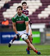 18 October 2020; Aidan O'Shea of Mayo during the Allianz Football League Division 1 Round 6 match between Galway and Mayo at Tuam Stadium in Tuam, Galway. Photo by Ramsey Cardy/Sportsfile