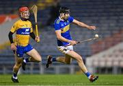 19 October 2020; Gearóid O'Connor of Tipperary gets past Darragh Lohan of Clare during the Bord Gáis Energy Munster Hurling Under 20 Championship Quarter-Final match between Tipperary and Clare at Semple Stadium in Thurles, Tipperary. Photo by Piaras Ó Mídheach/Sportsfile