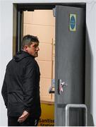 19 October 2020; Derry City manager Declan Devine makes his way to the dressing rooms following the SSE Airtricity League Premier Division match between Derry City and Dundalk at Ryan McBride Brandywell Stadium in Derry. Photo by Harry Murphy/Sportsfile