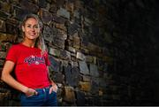 22 October 2020; Pictured is Cork Ladies Footballer Orla Finn, who today was on hand to launch a landmark partnership between the GAA and Dublin based company, The Marketing Hub. The partnership will see The Marketing Hub become the GAA's first licensed leisurewear supplier. The clothing collection will feature a wide range of items specifically created for GAA fans in 31 counties as well as New York and London. The various county ranges will be exclusively available online at www.ganzee.ie. Photo by Eóin Noonan/Sportsfile
