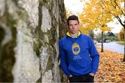 22 October 2020; Ganzee are the first official GAA Lifestyle wear collection. The range includes hoodies, t-shirts and wall stickers in various designs for 31 different counties as well as New York and London. The collection available exclusively online at www.ganzee.ie is available in women's, men's and children's sizes. Pictured at the launch is Tipperary senior hurler Pádraic Maher in Limerick. Photo by Piaras Ó Mídheach/Sportsfile
